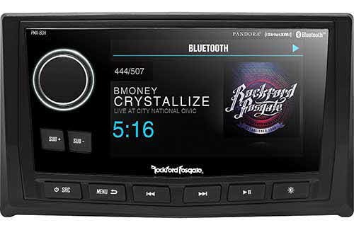 "ROCKFORD FOSGATE Punch Marine/Motorsport Full Function Wired 5"" TFT Display Head"