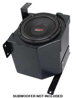 SSV Works Pioneer 700 Under Seat 10� Sub Box - Unloaded