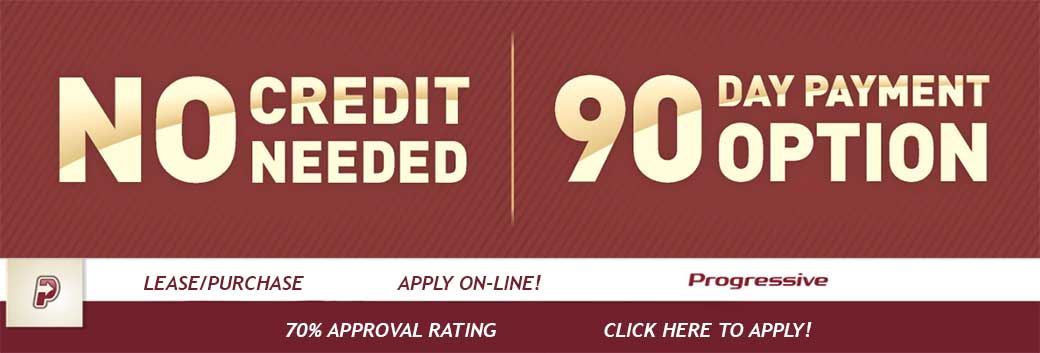 No Credit Needed - 90 Day Payment Option - Why not finance that new Kenwood, Pioneer or Rockford Fosgate purchase.  CLICK HERE TO APPLY!