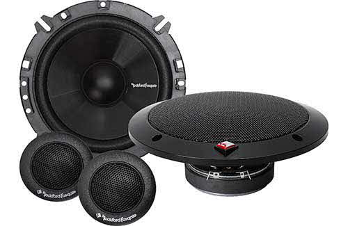"ROCKFORD FOSGATE 160W Peak (80W RMS) 6.5"" 2-Way PRIME Series Component Car Audio Speaker System"