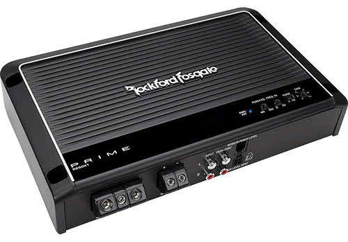 ROCKFORD FOSGATE 250W RMS Monoblock Single Channel Class AB Prime Series Amplifier