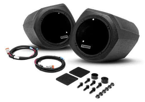 "ROCKFORD FOSGATE 6.5"" front lower speaker enclosures for select Polaris GENERAL� models"
