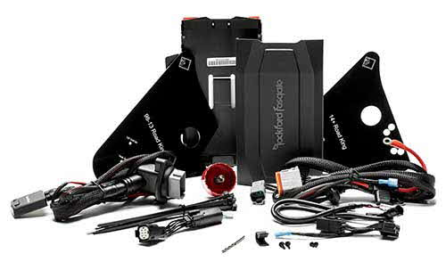 ROCKFORD FOSGATE Complete Amp Install Kit for Select 1998+ Harley Davidson� Motorcycles