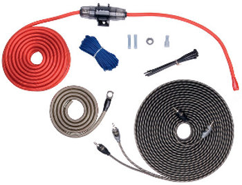 ROCKFORD FOSGATE 8 GAUGE POWER & SIGNAL INSTALLATION KIT