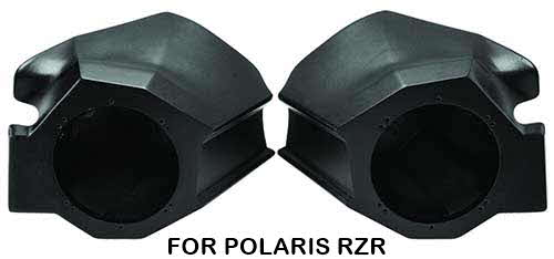 ROCKFORD FOSGATE Polaris RZR Direct Fit Front Speaker Enclosures for '14+