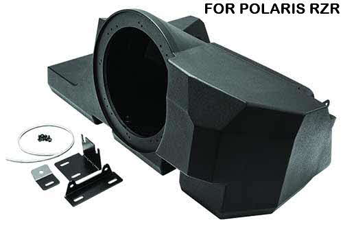 ROCKFORD FOSGATE Polaris RZR Direct Fit Subwoofer Enclosure for '14+