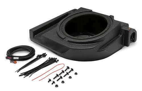 "10"" front drivers side subwoofer enclosure for select Maverick X3 models"