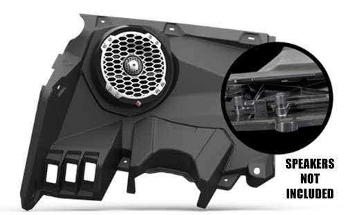 "ROCKFORD FOSGATE 6.5"" front speaker enclosures (pair) for 2017+ Maverick X3 models"