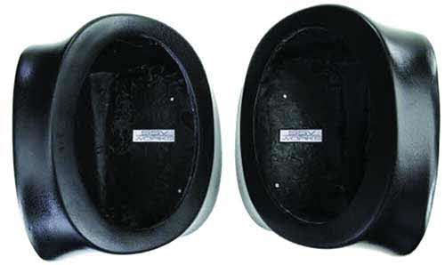 SSV Works Polaris Ranger Rear Speaker Pods - Unloaded