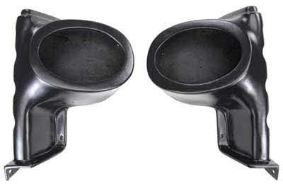 "SSV Works Polaris Ranger Gen 1 6x9"" Front Speaker Pods - Unloaded"