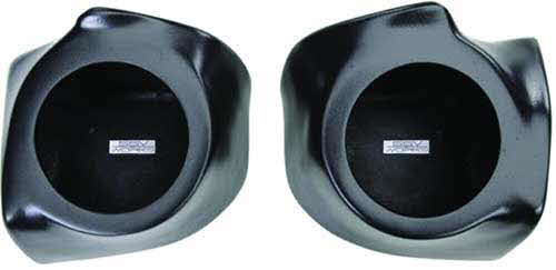 "SSV Works Polaris Ranger Gen 2 6 1/2"" Front Speaker Pods - Unloaded"