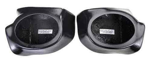 "SSV Works Polaris Ranger Gen 2 6x9"" Front Speaker Pods - Unloaded"