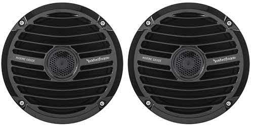 "ROCKFORD FOSGATE Prime Marine 6.5"" Full Range Speakers - Black"