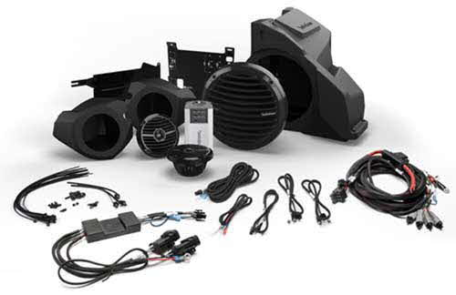 ROCKFORD FOSGATE Ride Command� Interface, Front Speaker and Subwoofer Kit for Select Polaris� RZR� Models