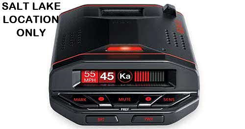 ESCORT Radar detector with Bluetooth�, GPS, and preloaded camera database