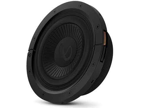 "INFINITY 8"" (200mm) adjustable depth car audio subwoofers optimized for factory location upgrades"