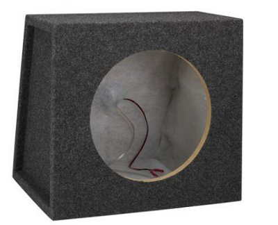 SCOSCHE 12� SEALED SINGLE SUBWOOFER ENCLOSURE