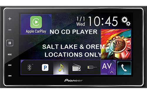 "PIONEER Smartphone Receiver with 6.2"" Capacitive Touchscreen Display, Apple CarPlay�, Bluetooth�, Siri� Eyes Free, Android� Music Support, Pandora�, FLAC Audio Support, and On-Screen Access to Compatible Apps"