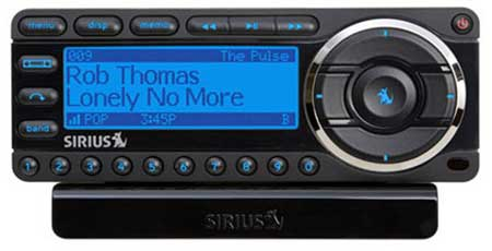 SIRIUS Starmate 5 Dock & Play Radio Vehicle Kit