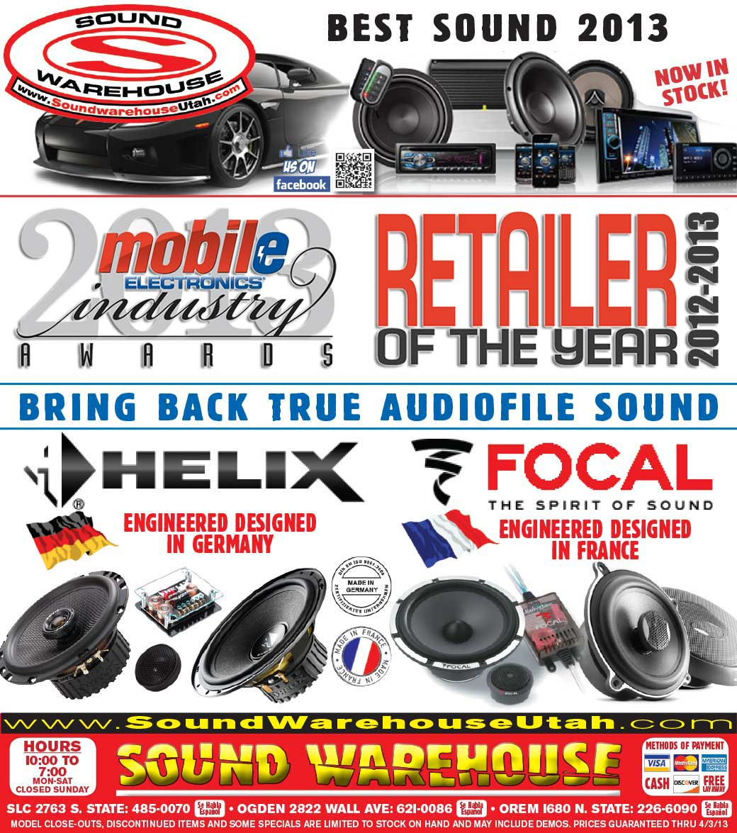 Sound Warehouse City Weekly Ad