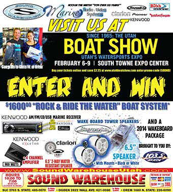 "Congrats to Chris W. - Winner of the ""Rock & Ride"" the Water Boat System!"