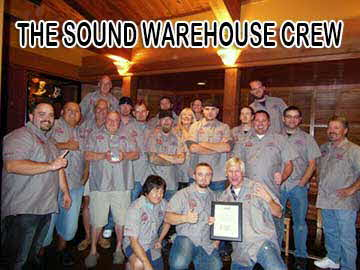 Come join our crew at Sound Warehouse! - Click Here to see some of the events our employees attend!