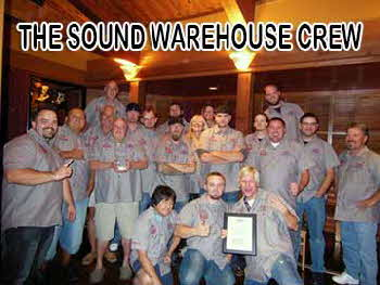 Sound Warehouse Crew 2012 - Retailer of the Year 2011-2013!