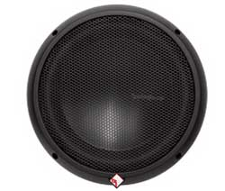 "ROCKFORD FOSGATE 1100W 10"" Dual 4 Ohm Power T0 Series Subwoofer with Kevlar Fiber Reinforced Paper Cone"