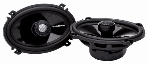 ROCKFORD FOSGATE 4�x6� 2-WAY FULL-RANGE SPEAKER