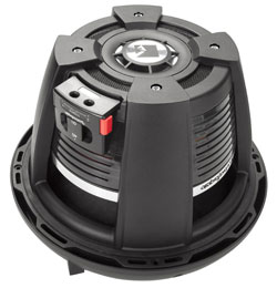 "ROCKFORD FOSGATE 10"" POWER T1 4-OHM DVC SUBWOOFER"