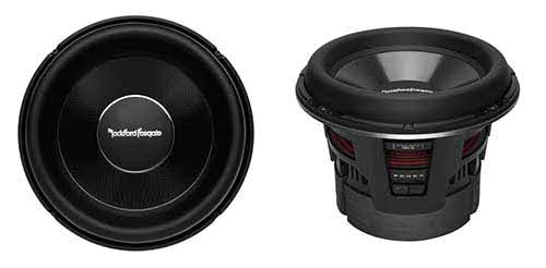 "ROCKFORD FOSGATE 13"" Power T2 Single 2-Ohm Subwoofer"