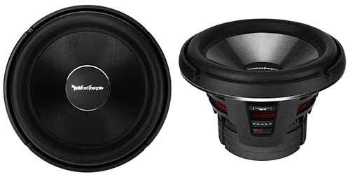 "ROCKFORD FOSGATE 16"" Power T2 Single 2-Ohm Subwoofer"