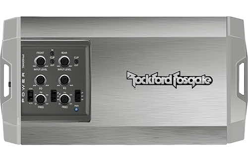 ROCKFORD FOSGATE 400 Watt Class-AD 4-Channel Amplifier