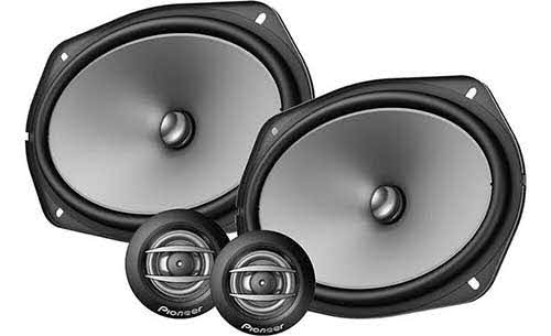 "A-Series 6""x9"" component speaker system"