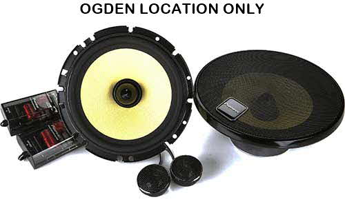 "Pioneer 6-3/4"" component speaker system"