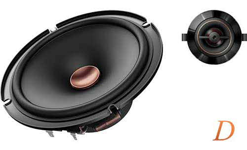 "Pioneer D Series 6-1/2"" component speaker system"