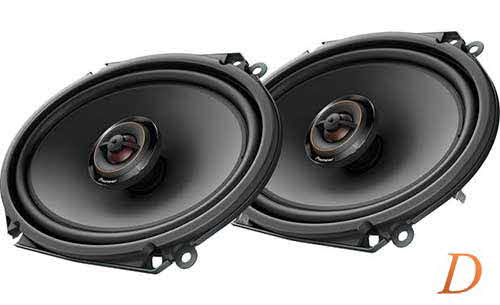 "PIONEER D Series 6""x8"" 2-way car speakers"