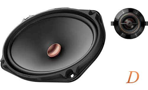 "Pioneer D Series 6""x9"" component speaker system"