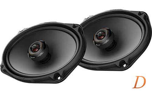"PIONEER D Series 6""x9"" 2-way car speakers"