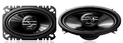 "PIONEER 400W Max (60W RMS) 4"" x 6"" G-Series 2-Way Coaxial Car Speakers"