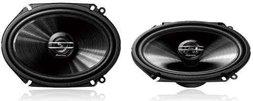 "PIONEER 500W Max (80W RMS) 6"" x 8"" G-Series 2-Way Coaxial Car Speakers"