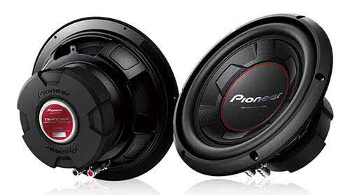 "PIONEER 10"" 1100 Watts Max Power Subwoofer with IMPP Cone"