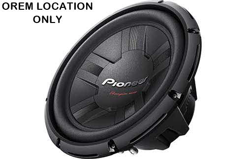 "PIONEER 1400W 12"" Champion Series Single 4 ohm Car Subwoofer"