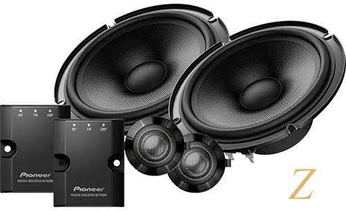 "Pioneer 6-1/2"" Z series component speaker system"