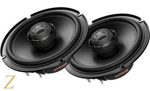 "PIONEER 6-1/2"" 2-way car speakers"