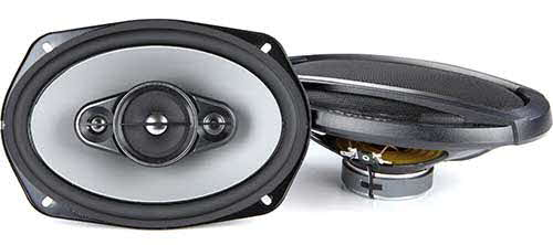 "PIONEER A-Series 6""x9"" 4-way car speakers"