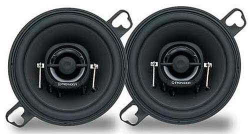 "PIONEER 3�"" Custom-Fit 2-Way Speaker with 60 Watts Maximum Power"
