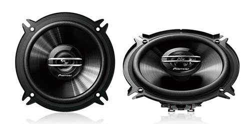 "PIONEER 500W Max (70W RMS) 5.25"" G-Series 2-Way Coaxial Car Speakers"