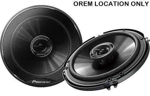 "PIONEER 250W 6-1/2"" 2-Way G-Series Coaxial Car Speakers"