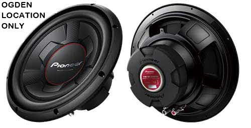 PIONEER 12' Subwoofer with IMPP Cone 1300W Max